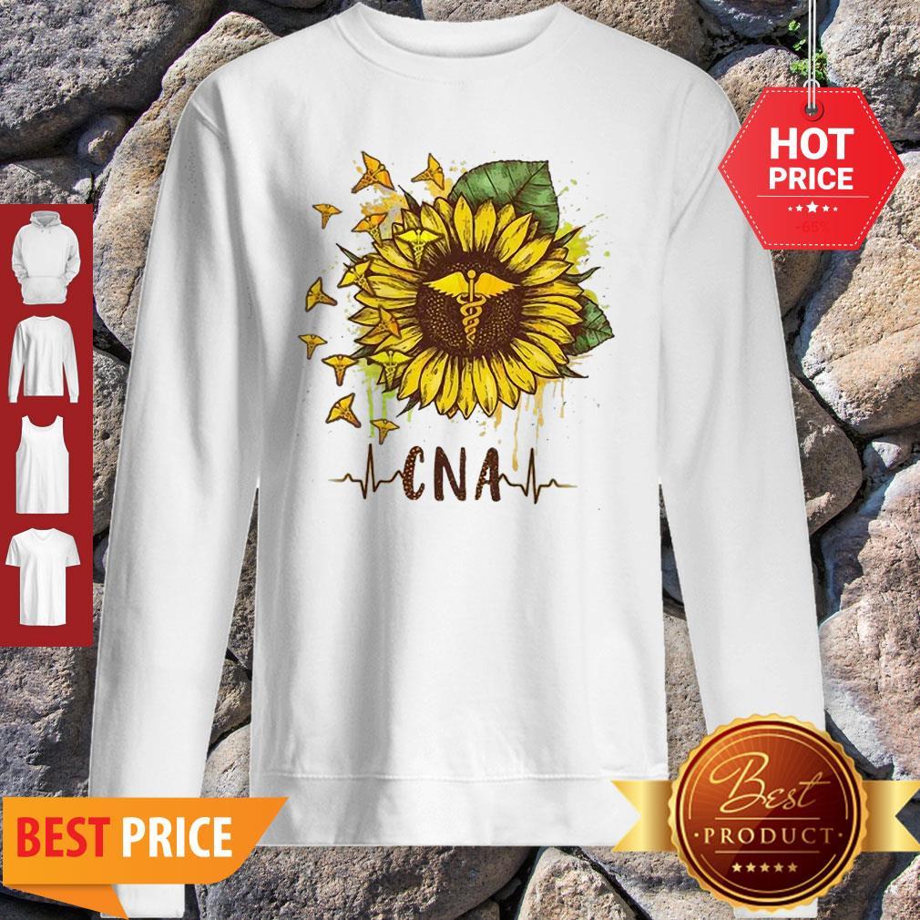 Sunflower Certified Nursing Assistant CNA Sweatshirt
