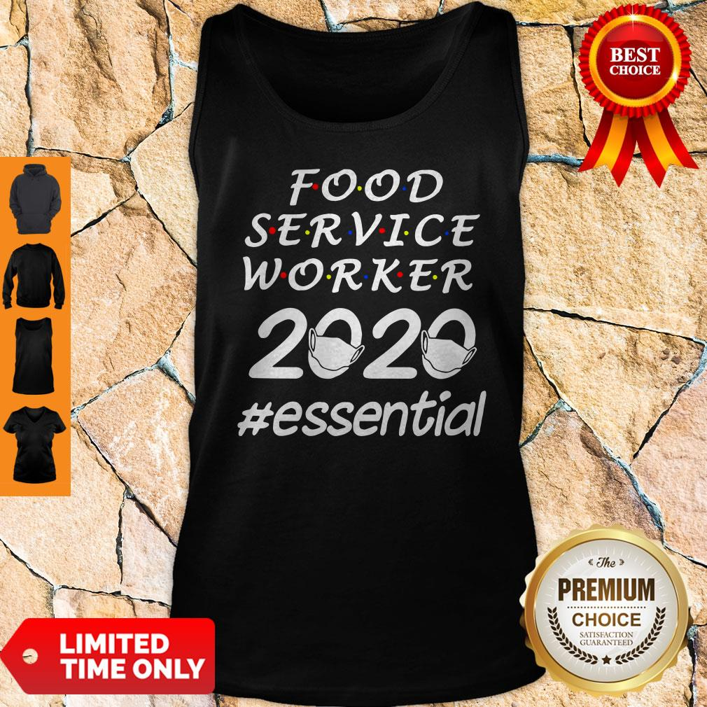 Perfect Food Service Worker 2020 Essential Tank Top