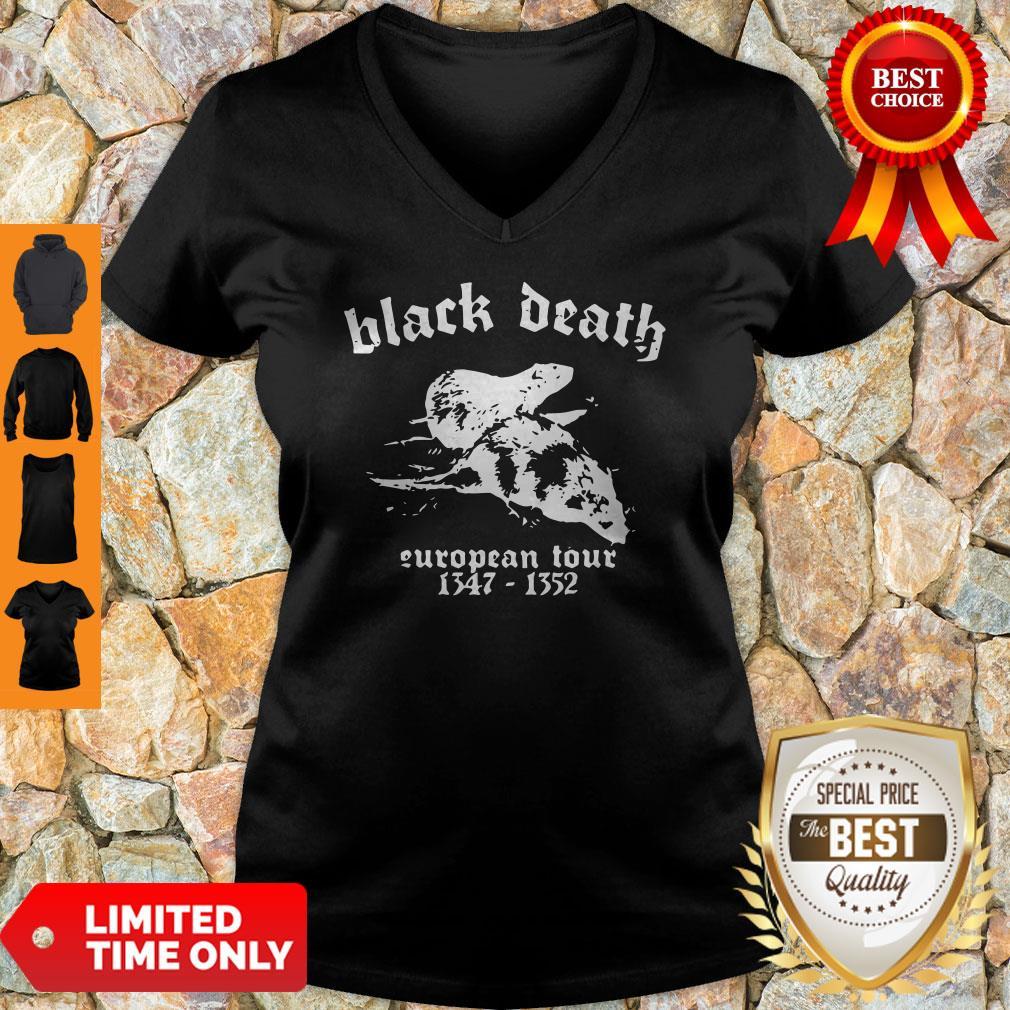 Premium Black Death European Tour 1347 - 1352 V-neck