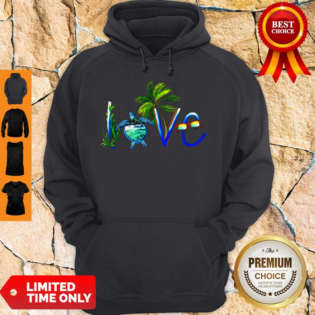 Awesome Summer Vibe Turtle Love Hoodie