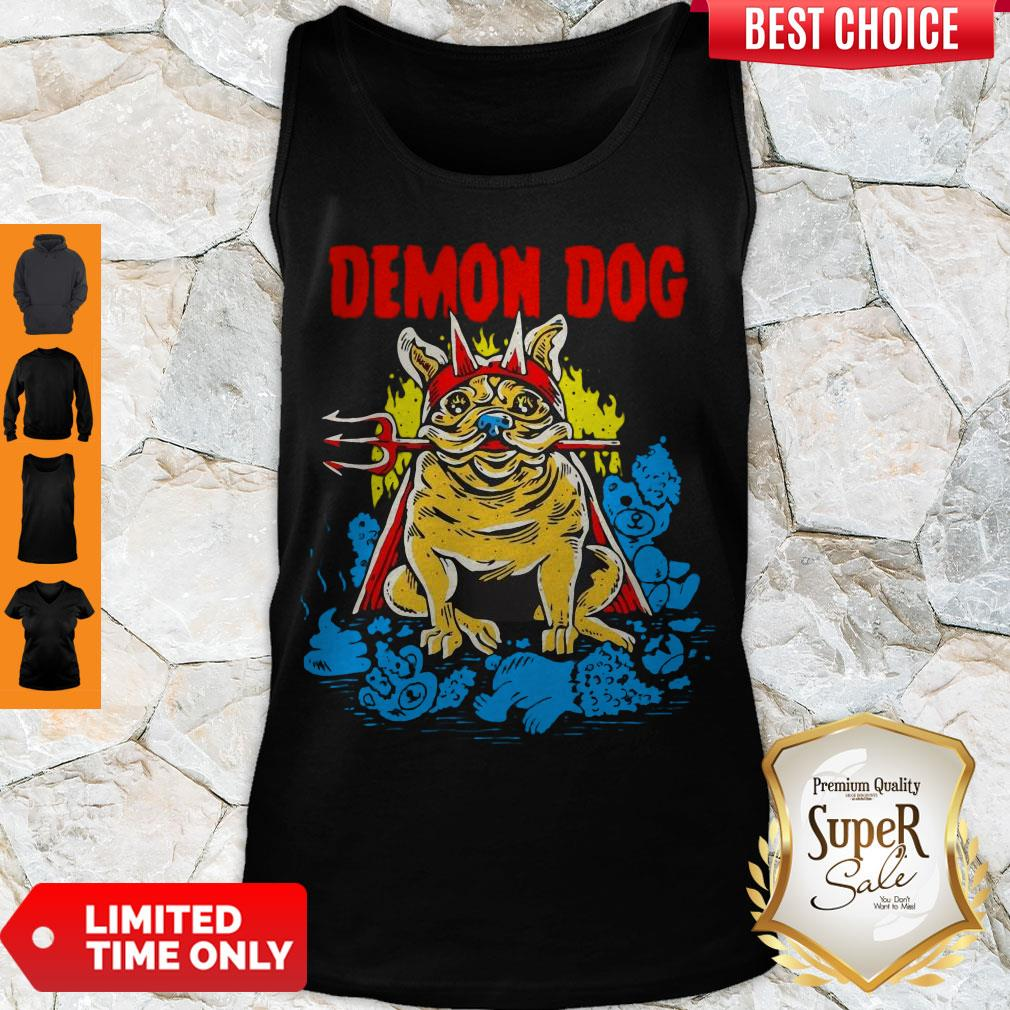 Cute Demon Dog Tank Top