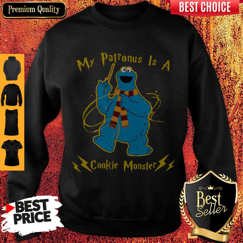 Cute My Patronus Is A Cookie Monster Sweatshirt