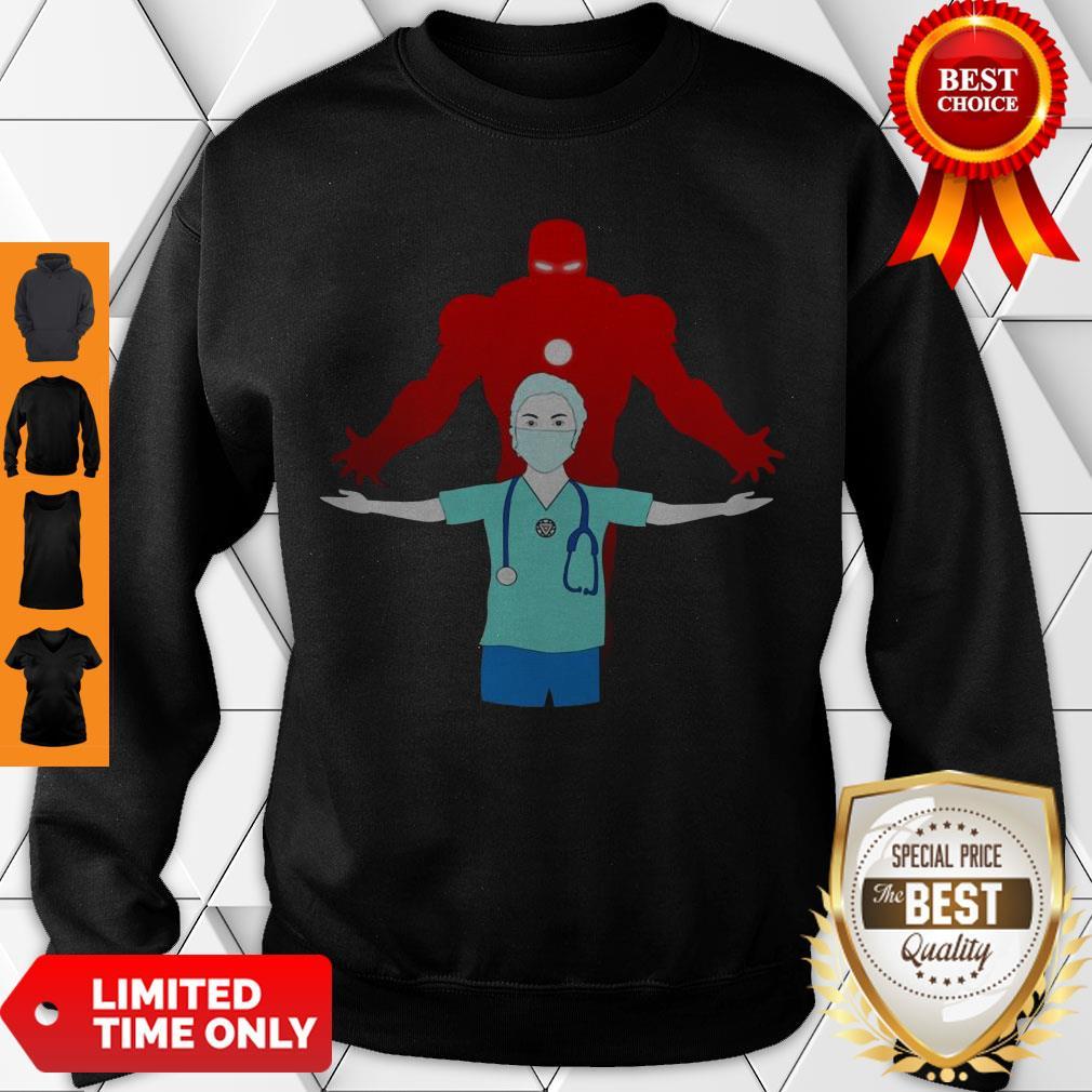 Good Doctor Is Superhero Sweatshirt