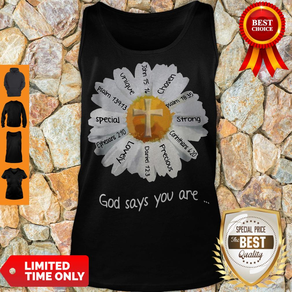 Nice God Says You Are Special Lovely Funny Tank Top