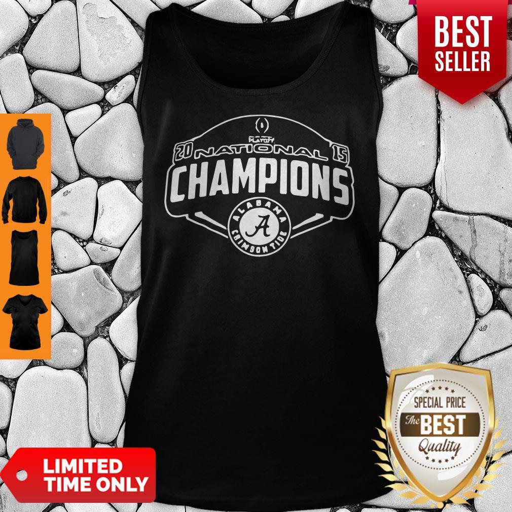 Nice Playoff National Champions Alabama Crimson Tank Top