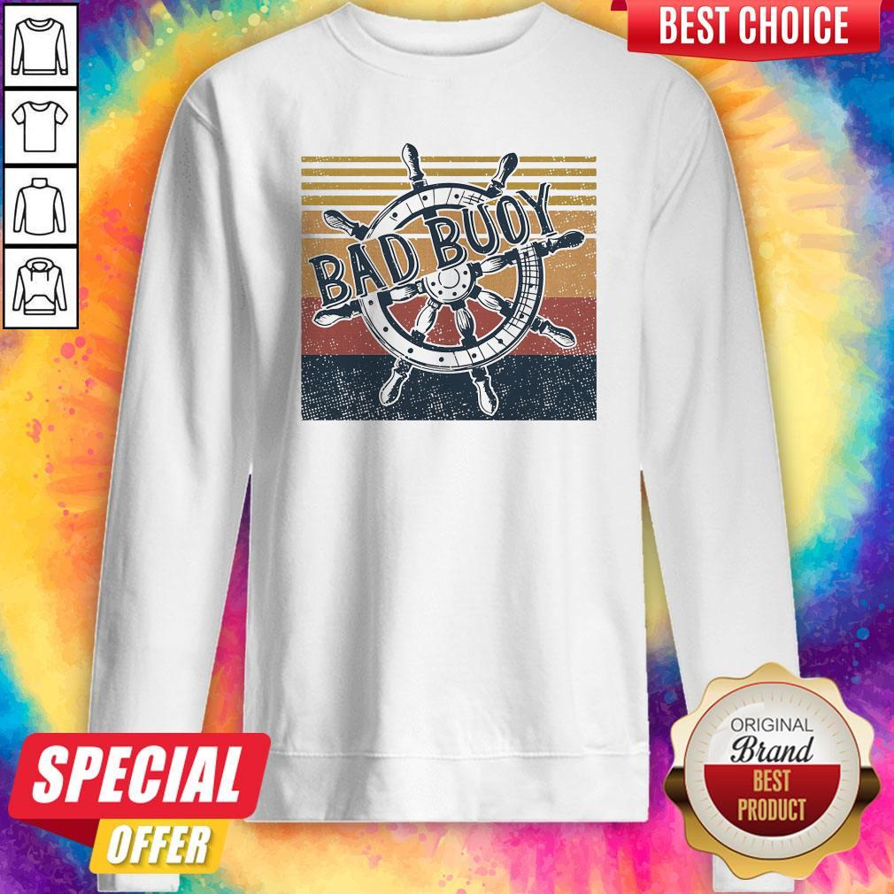 Original Bad Buoy Nauti Girl Vintage Sweatshirt