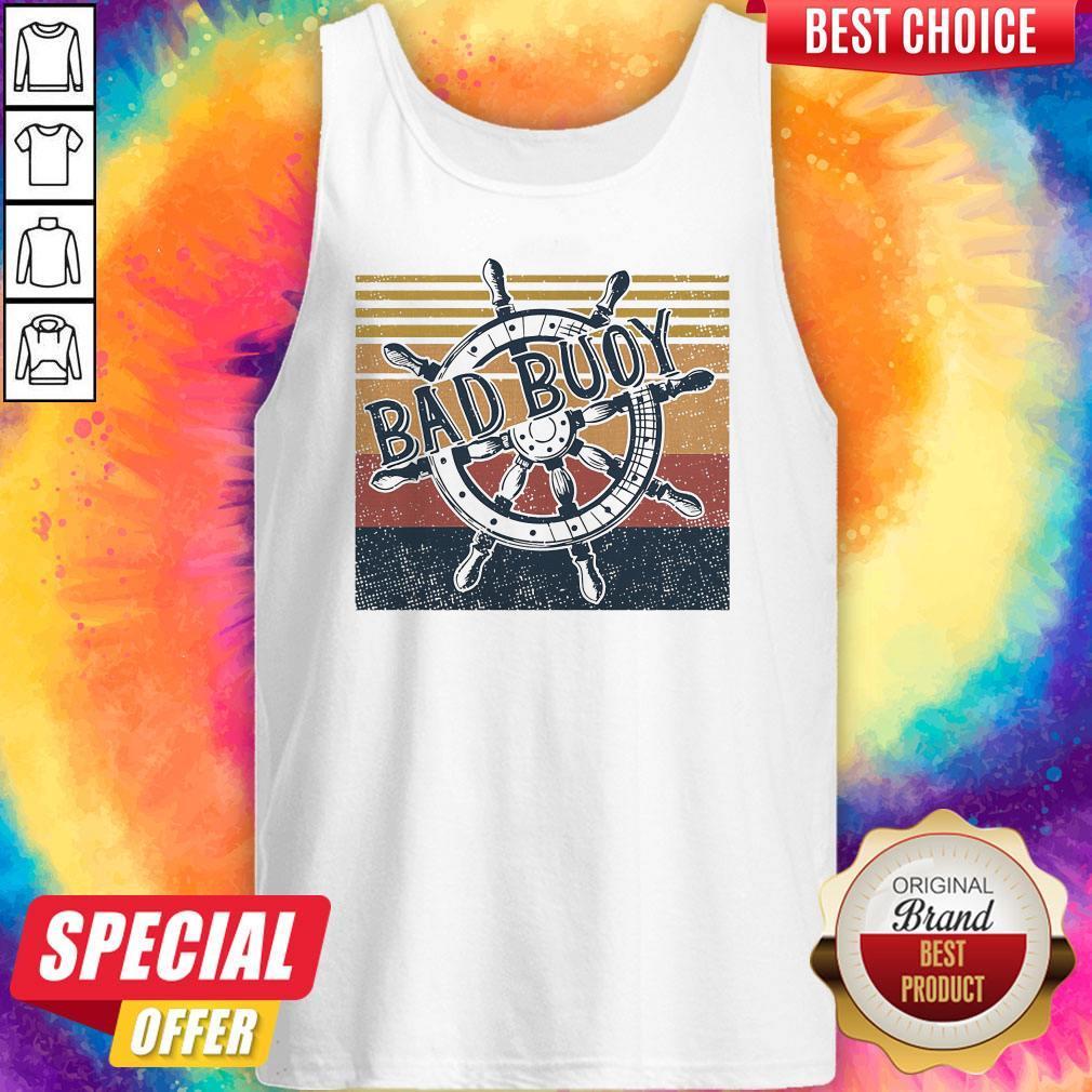 Original Bad Buoy Nauti Girl Vintage Tank Top