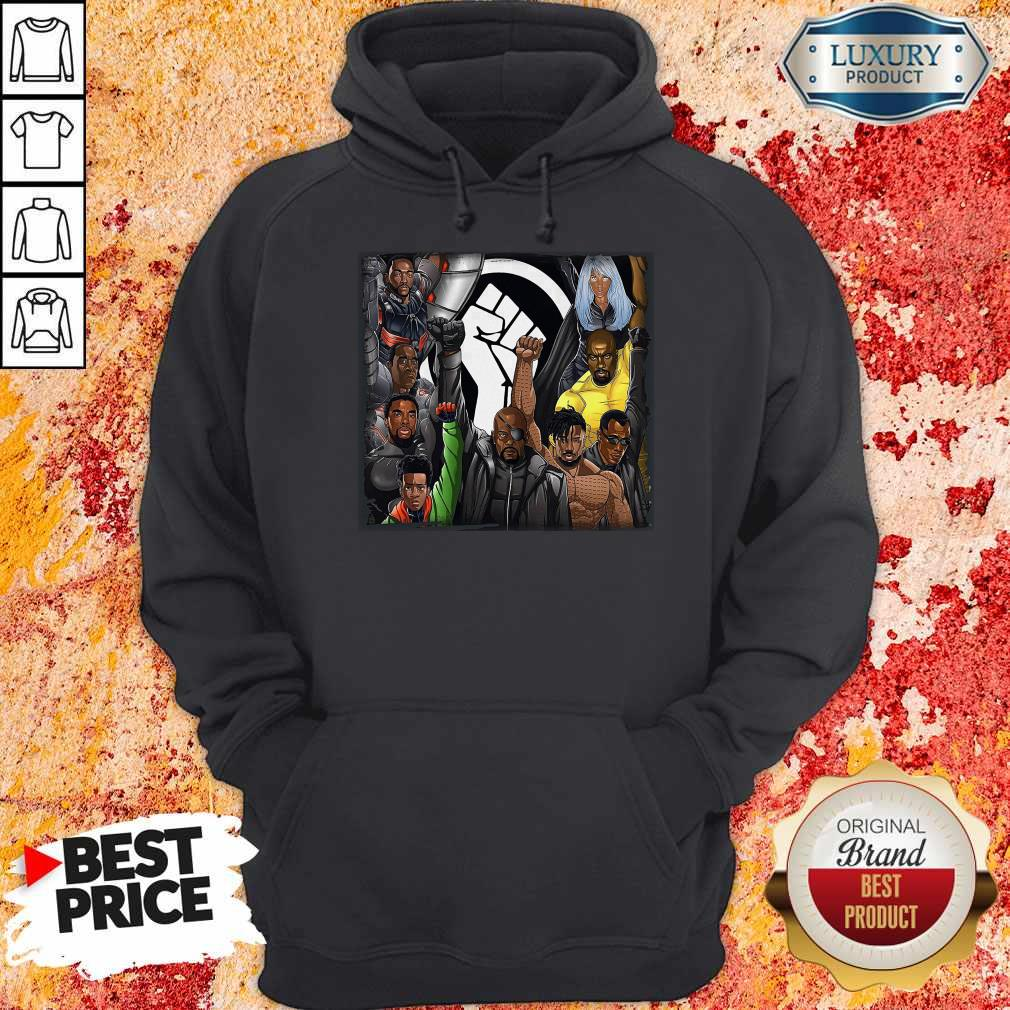 Perfect Black Panther Appreciation 2020 Strong Hand Hoodie