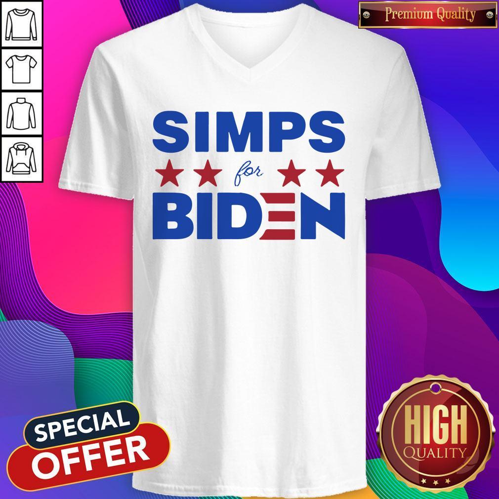 Top Simps For Biden 2020 V-neck