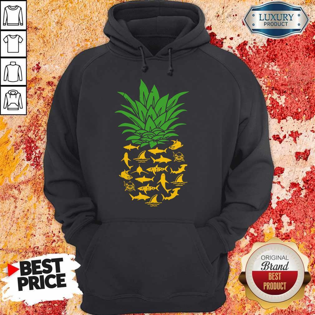 Funny Shark Pineapple Hoodie