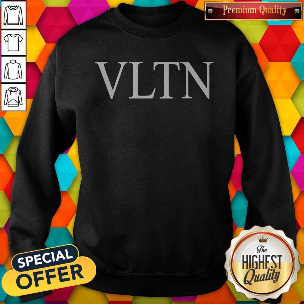 Official Valentino VLTN Black Sweatshirt