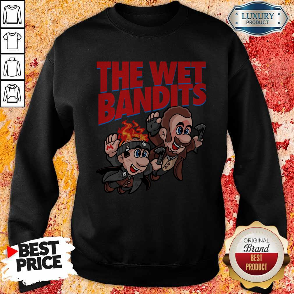 Original The Wet Bandits Home Alone Super Mario Funny Massup Sweatshirt