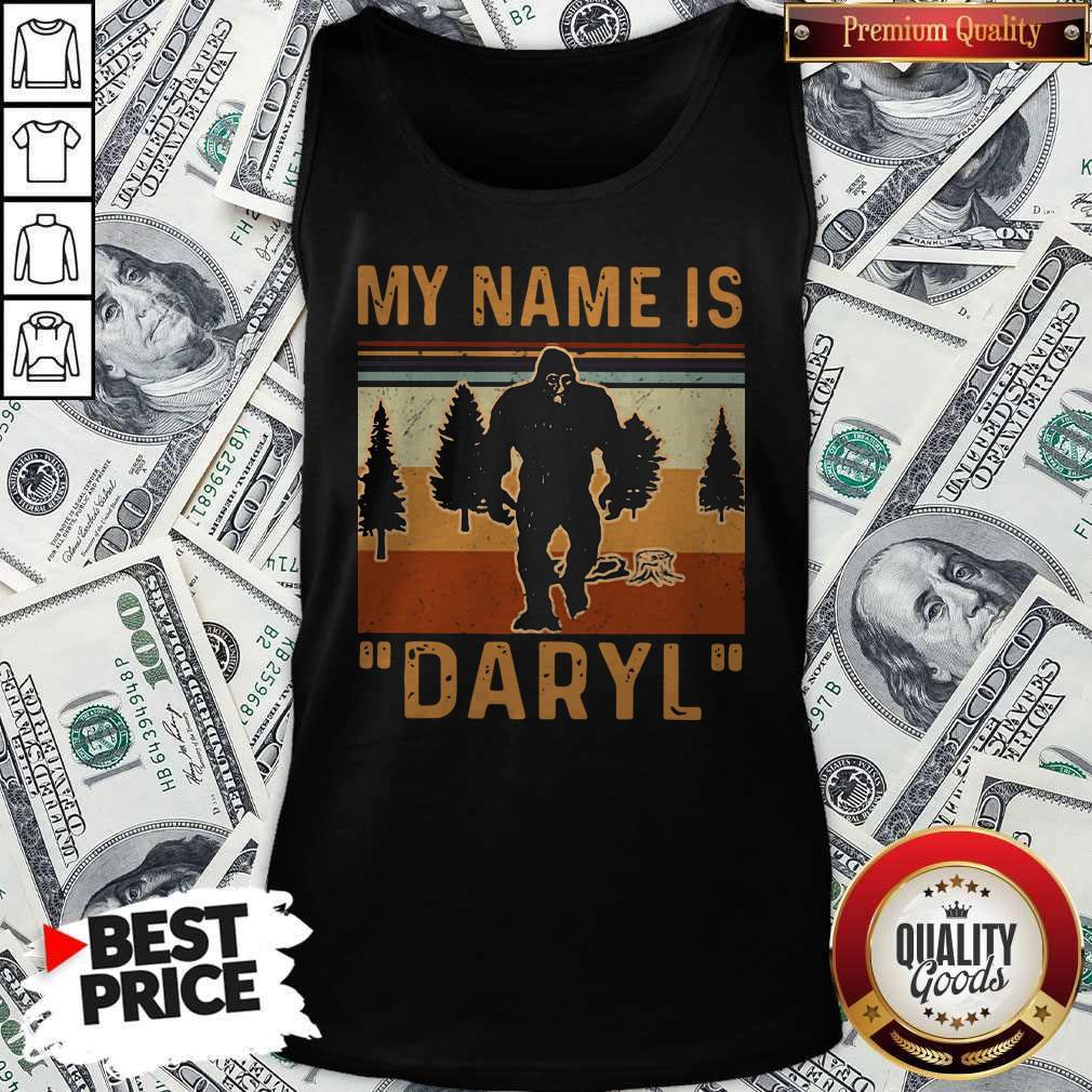 Pretty My Name Is Daryl Vintage Tank Top