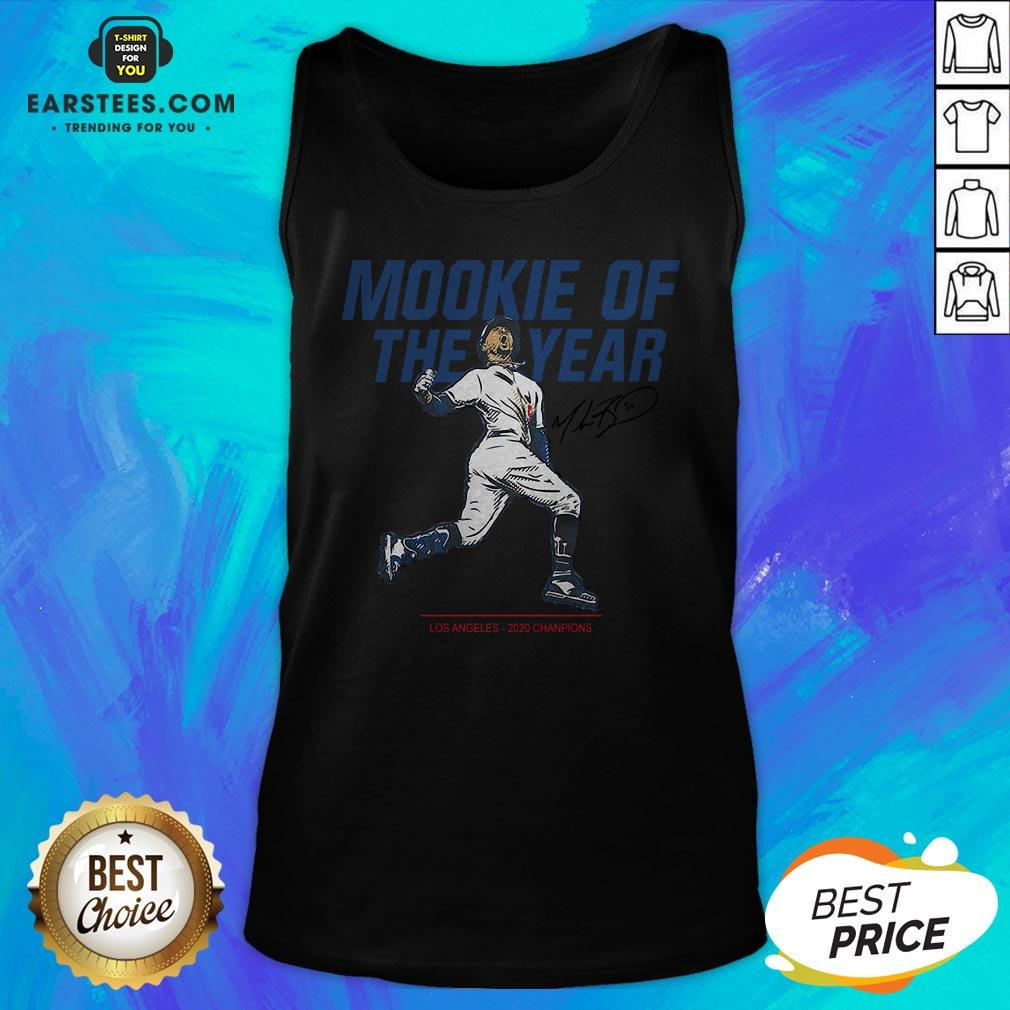 Awesome Mookie Of The Year Tank Top - Design By Earstees.com