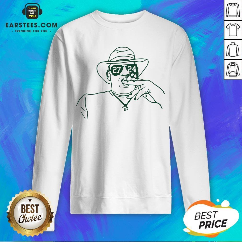 Nice 27-24 Unisex Sweatshirt - Design By Earstees.com