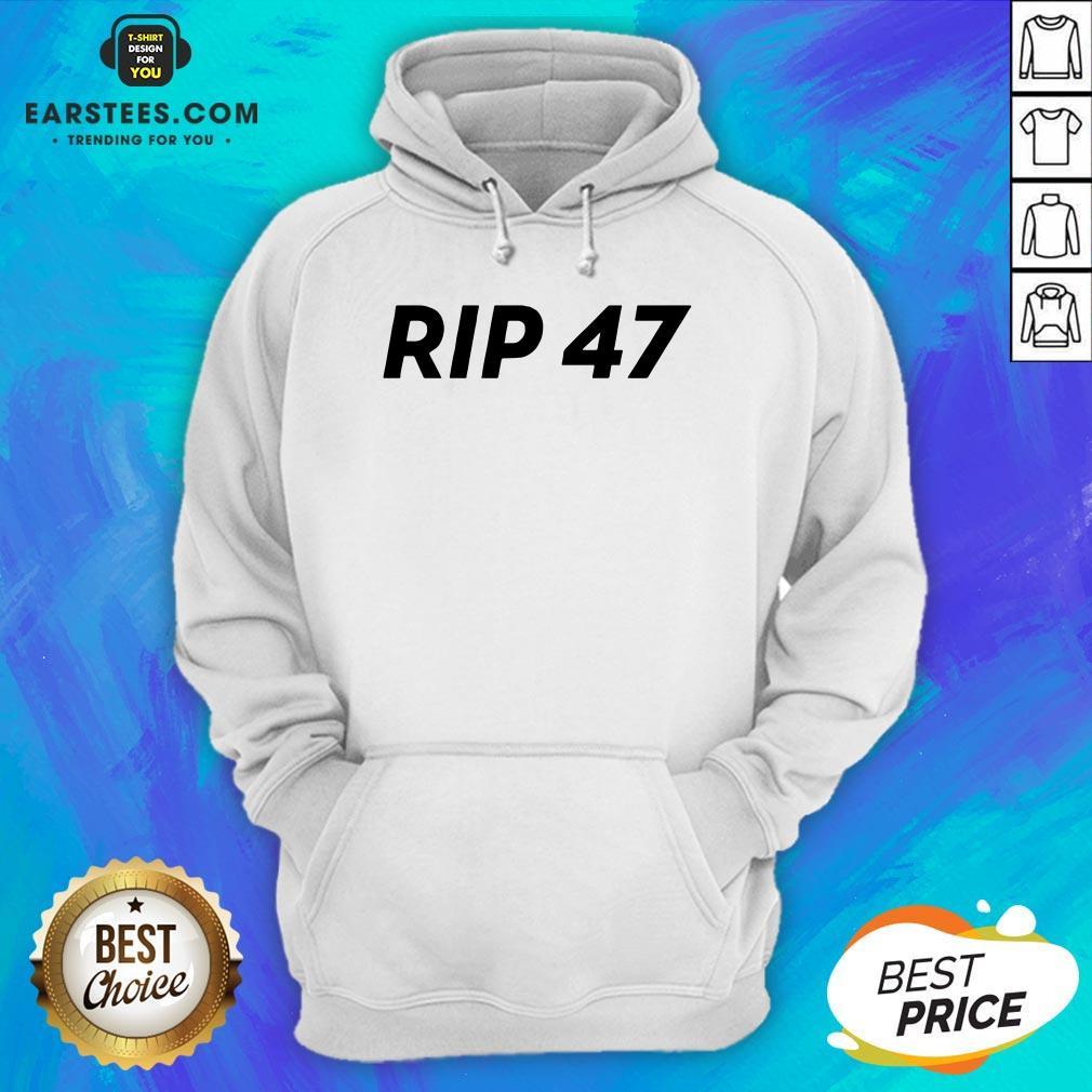 Pretty RIP 47 Sleeveless Hoodie - Design By Earstees.com