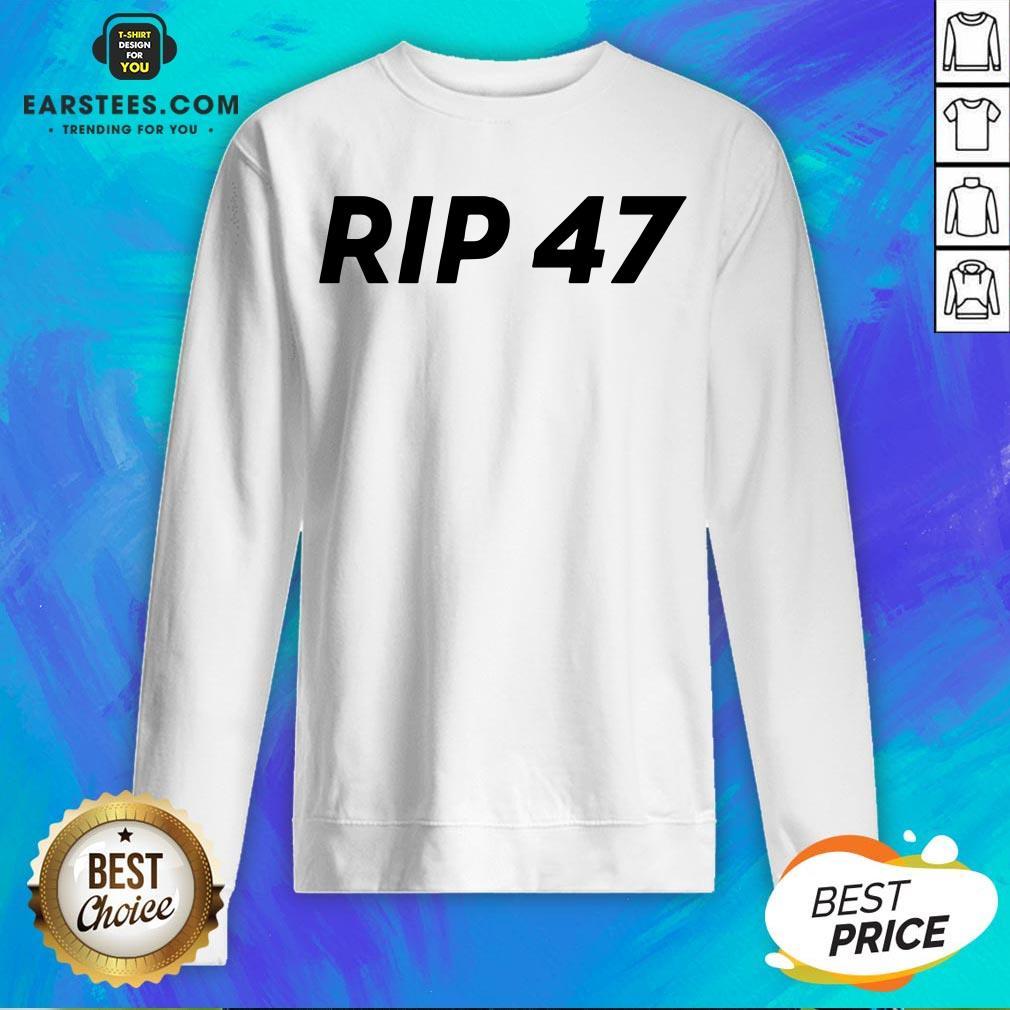 Pretty RIP 47 Sleeveless Sweatshirt - Design By Earstees.com