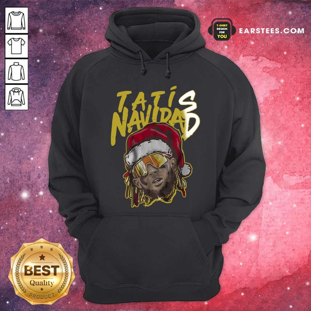 Tatis Navidad Hoodie - Design By Earstees.com