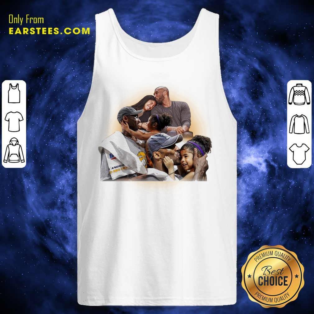 Kobe And Gigi Lebron James Tank Top - Design By Earstees.com