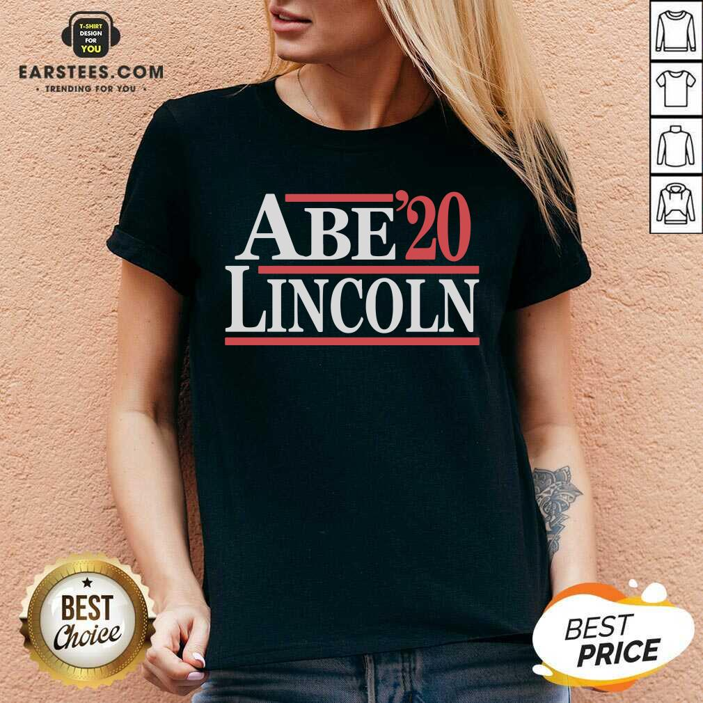 Hot Abe Lincoln 2020 V-neck - Design By Earstees.com