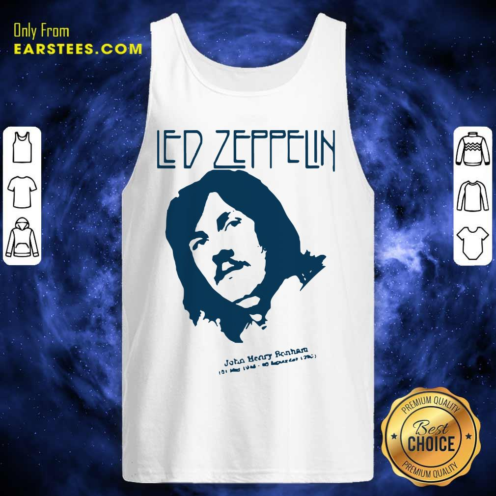 John Bonham Led Zeppelin Tank Top - Design By Earstees.com