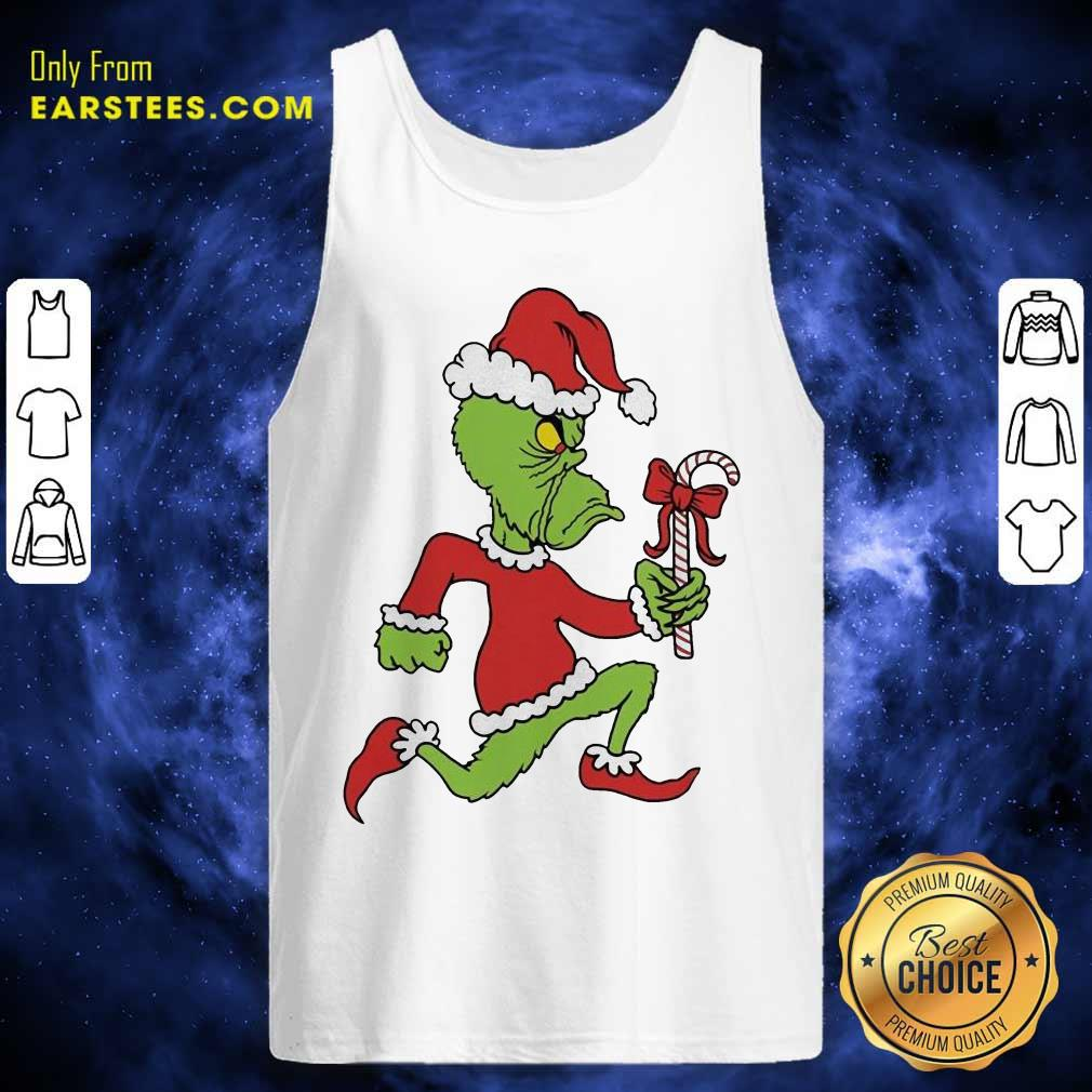 Grinch Merry Fucking Xmas Christmas Tank Top - Design By Earstees.com