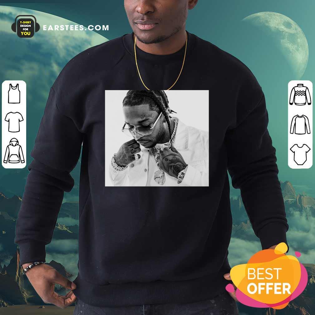 Rip Pop Smoke 2020 Sweatshirt - Design By Earstees.com