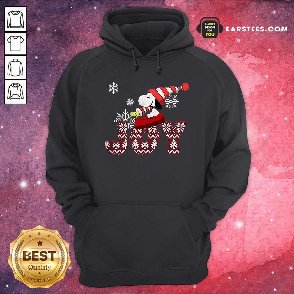 Snoopy Joy Merry Christmas Hoodie - Design By Earstees.com