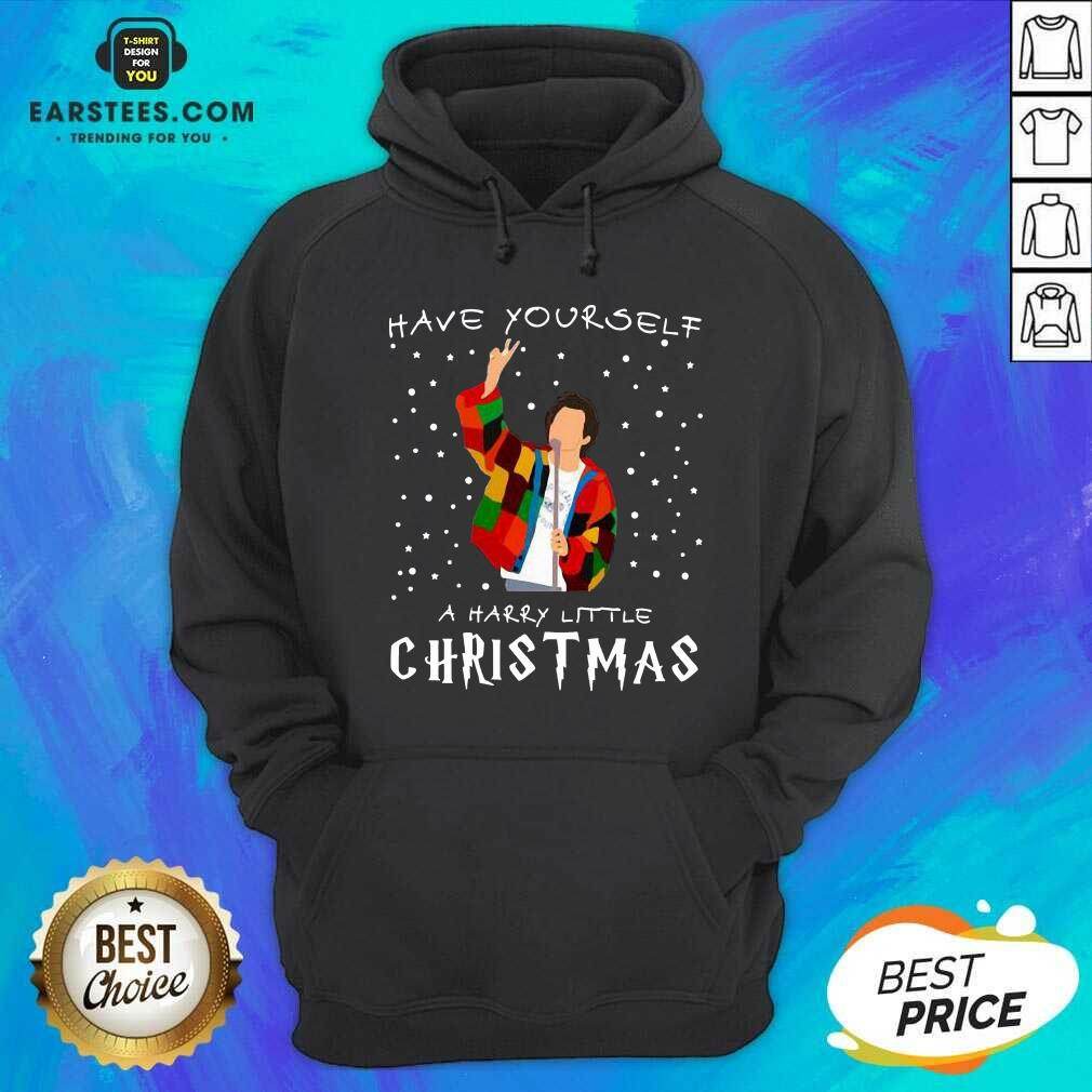 Premium Xmas Have Yourself A Harry Styles Christmas Hoodie - Design By Earstees.com