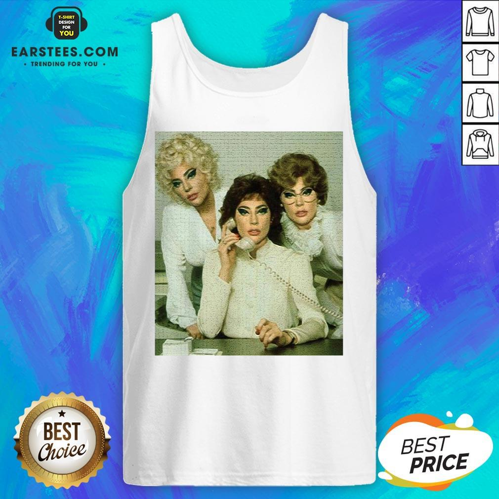 Top Lady Gaga 9 To 5 Tank Top - Design By Earstees.com