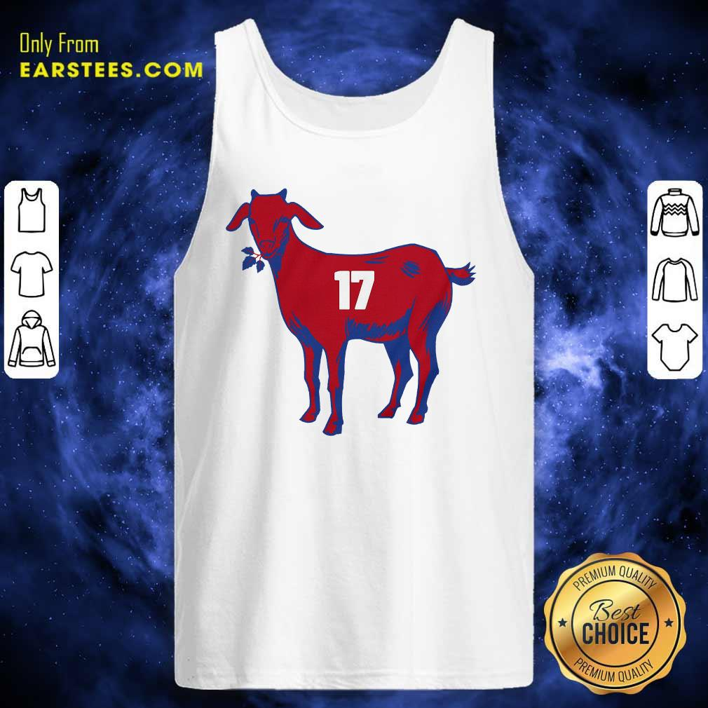 17 Goat Allen For Buffalo Bill 2021 Tank Top- Design By Earstees.com