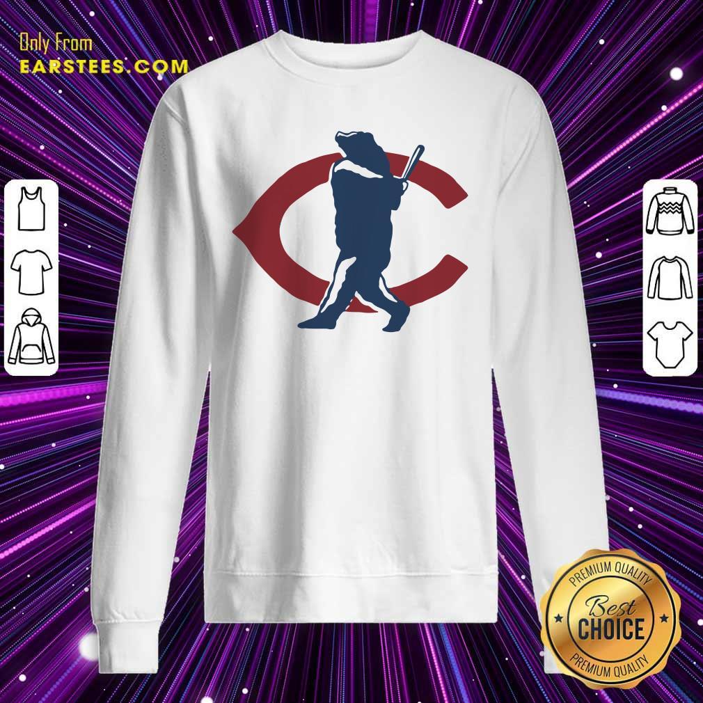 Chicago Bears North Side Home Run Sweatshirt- Design By Earstees.com