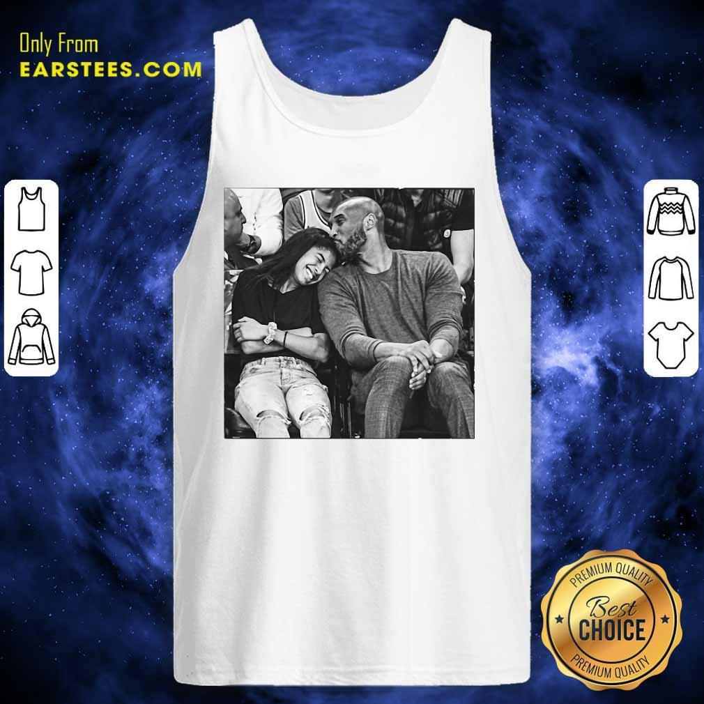 Kobe Bryant And Gigi Tank Top- Design By Earstees.com