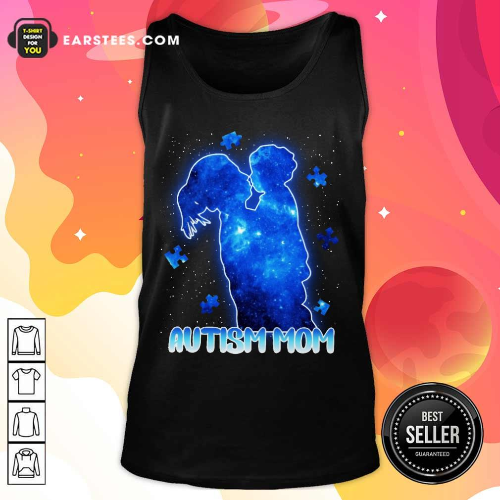 Fantastic Autism Mom Lovely Blue Tank Top