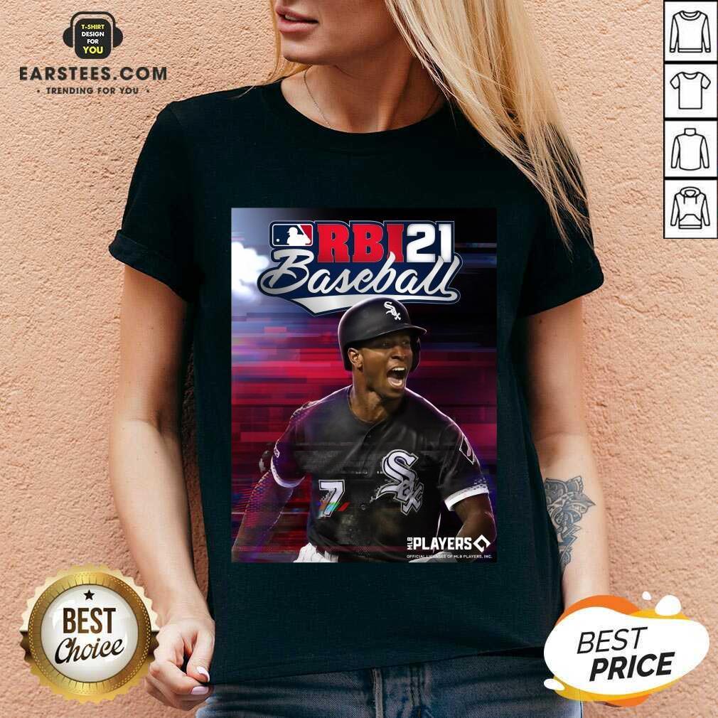 Fantastic MLB RBI Baseball 21 Great V-neck
