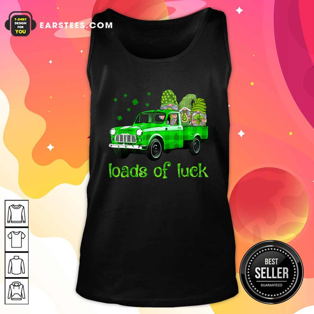 Leprechaun Gnomes Loads Of Luck St Patricks Day Tank Top- Design By Earstees.com