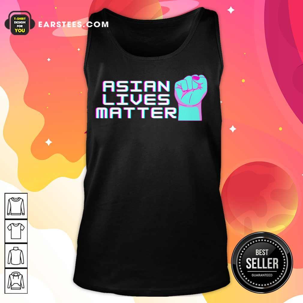 Original Asian Lives Matter Retro Tank Top