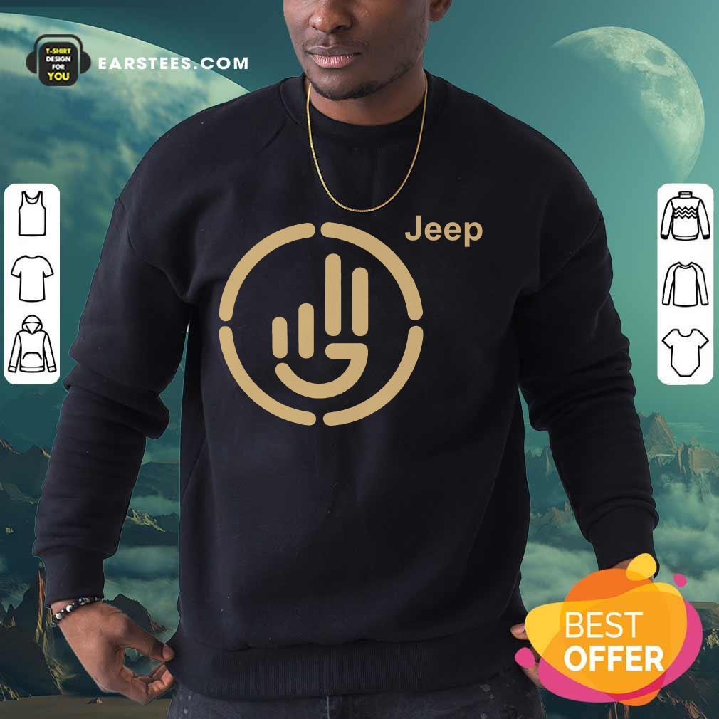 Perfect Jeep Wave Cloth Overjoyed 77 Sweatshirt