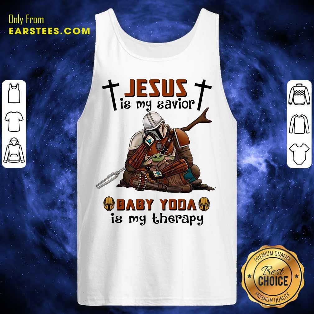 Perfect Star Wars Jesus Savior Therapy Tank Top