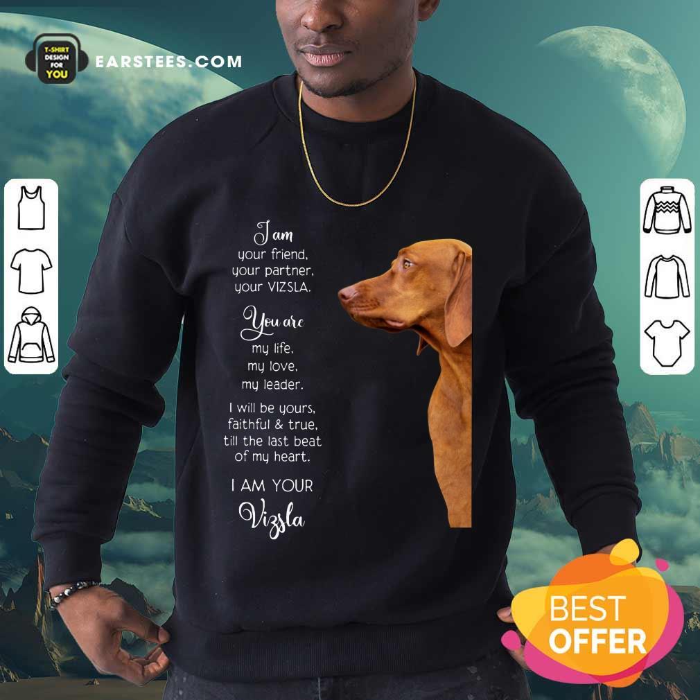 Good Vizsla Im Your Friend For Vizsla Lover Sweatshirt
