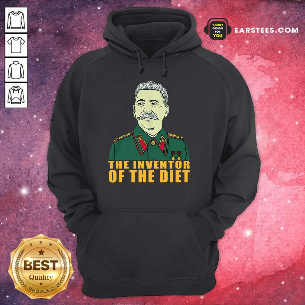 Pretty Stalin Around The Inventor Of The Diet Hoodie