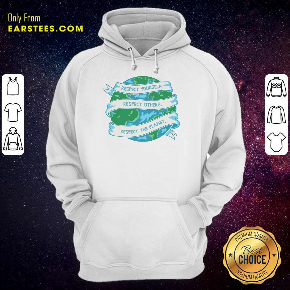 Respect The Planet Toddler Baseball Earth Day Hoodie