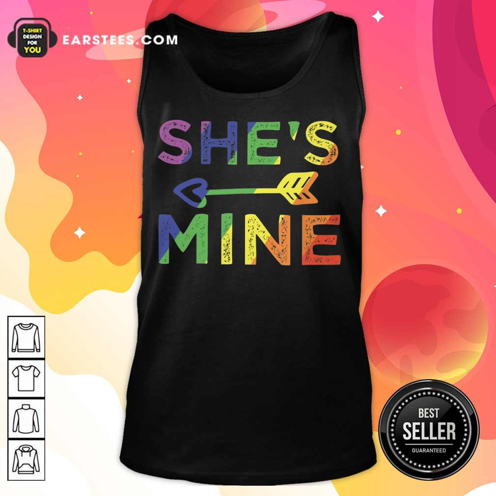 Top LGBT Shes Mine Tank Top