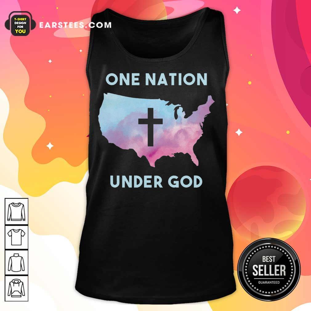 Nice One Nation Under God Tank Top