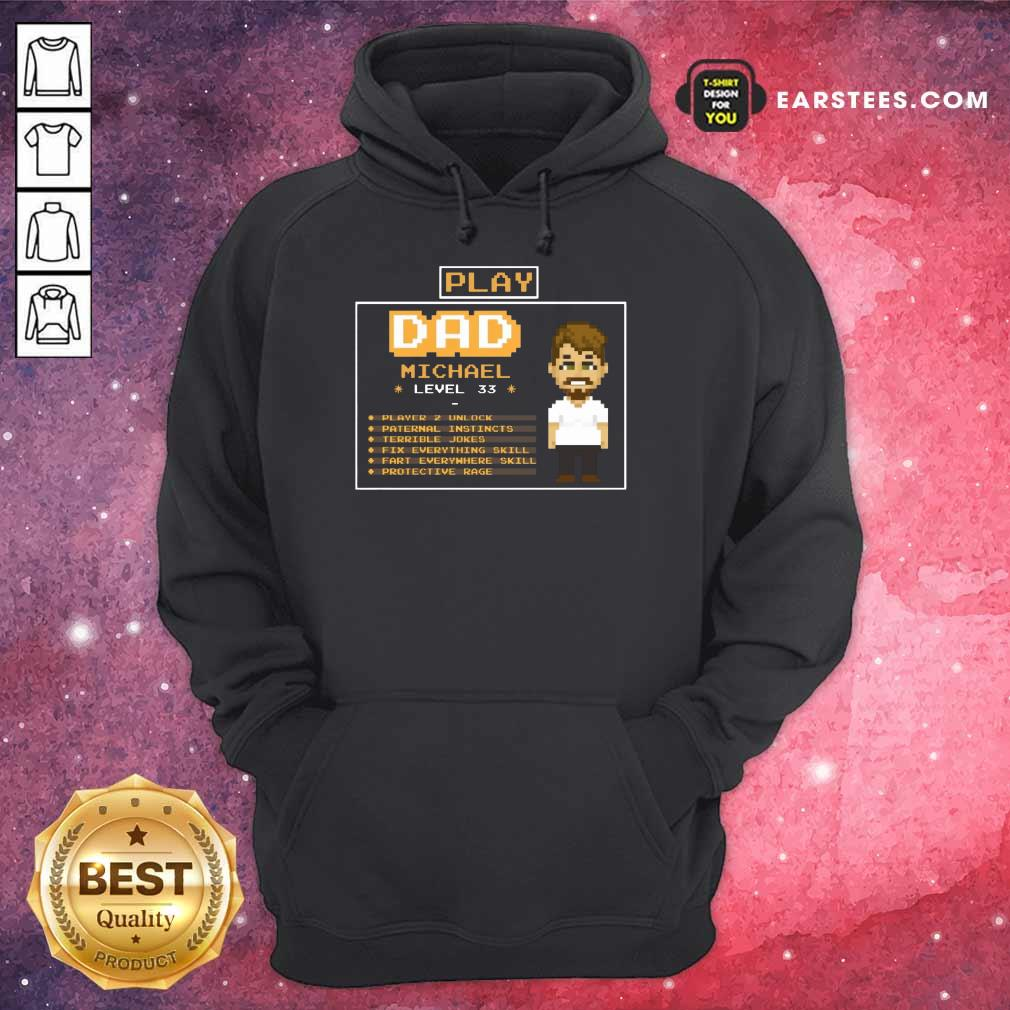 Top Playing Game Father Character Customize Hoodie