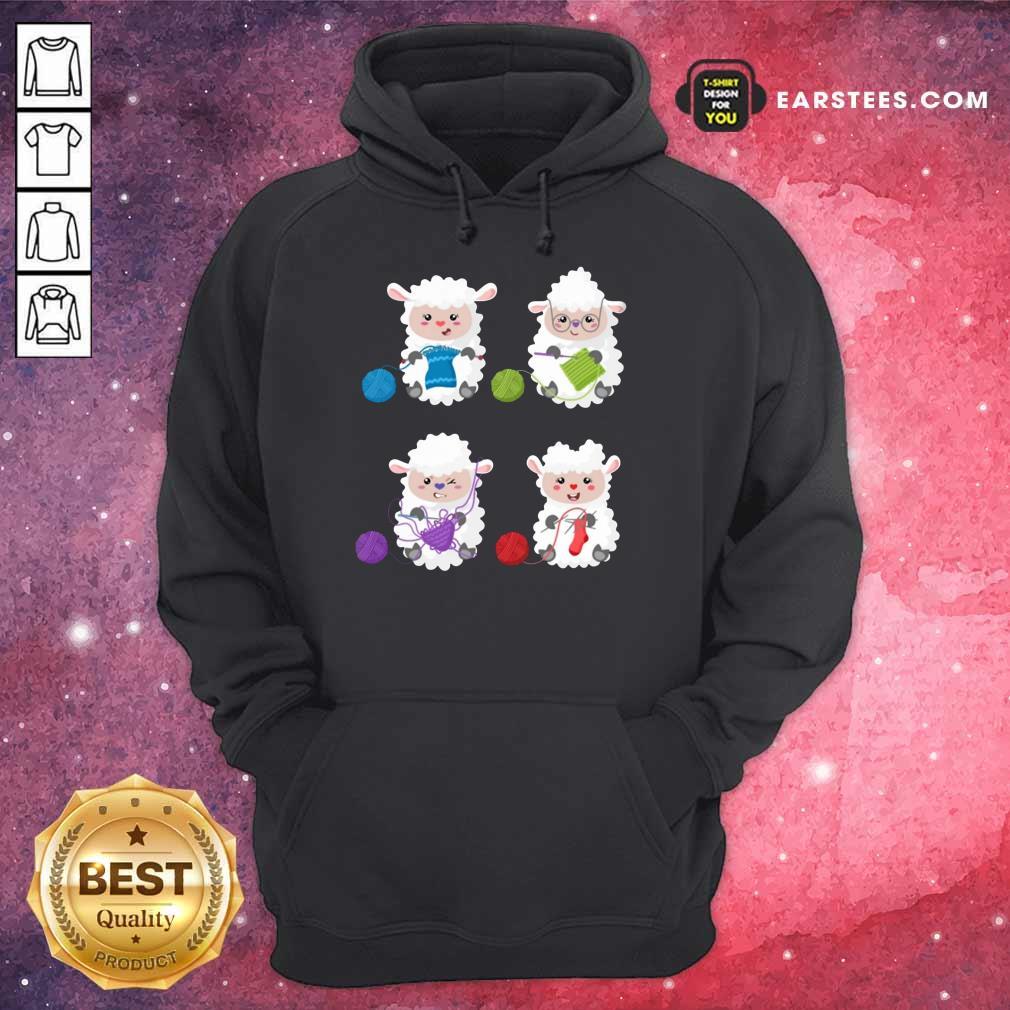 Top Sheep Knitting Lover Hoodie
