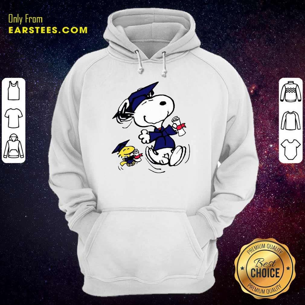 Top Snoopy And Graduation Hoodie