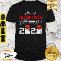 Class Of Quarantined Seniors 2020 Coronavirus Shirt