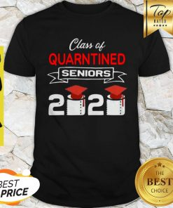 Class Of Quarantined Seniors 2020 Coronavirus Shirt
