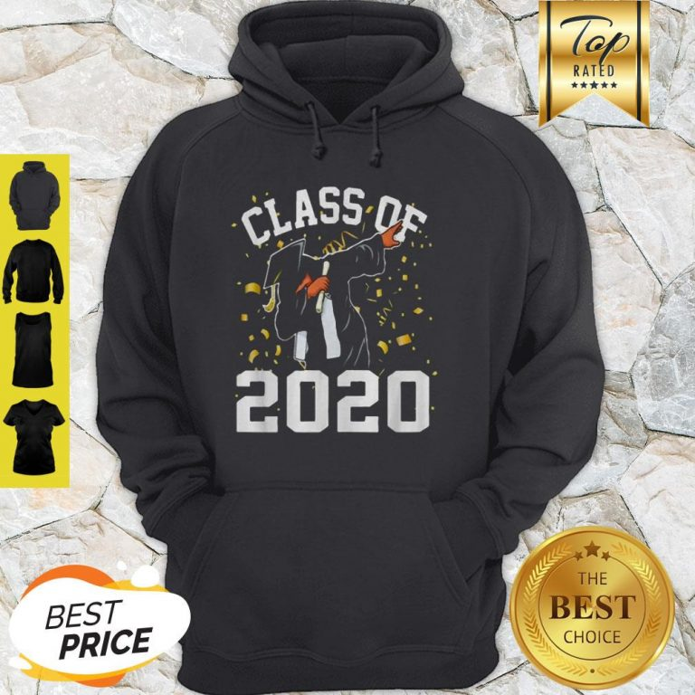 Dabbing Graduation Senior Class 2020 Coronavirus Hoodie